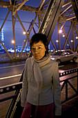 Mian Mian, author of Candy, Waibaidu Bridge, Shanghai