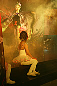 creative fashion show, Thai Gallery, young ballett girl watches