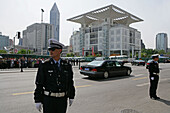 People's Square,People's Square, policeman, security for state visit, Urban Planning Centre