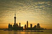 Skyline, Pudong, Huangpu River, Pearl Orient Tower, TV Tower, Jinmao, Shanghai, China