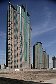 Pudong,Construction site, luxury apartments, Pudong