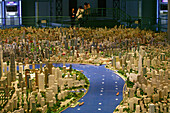 Shanghai Urban Planning Centre,Stadtplanungsmuseum, city model, People's Square, Stadtmodell, Stadtentwicklung