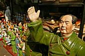 Nippes Kulturrevolution,Mao Figuren, Nippes, Kitsch, Nostalgie, Ikone, Kulturrevolution, Viererbande, Gang of Four, Erniedrigung des Klassenfeindes, Politische Opfer, Propaganda, Diktator, Porzellan, china ware, Keramik, Bronze, Cultural Revolution, polit