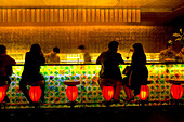 People in TMSK Bar, Xintiandi, Shikumen, Shanghai, China