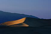 Sanddünen im Death Valley National Park, Kalifornien, USA