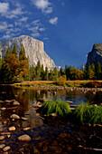 Merced River, Yosemite National Park, Kalifornien, USA