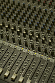 Mixing console, mixer