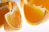 Slices of an orange