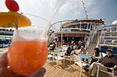 Planters Punch at Pool Bar on Deck 11,Freedom of the Seas Cruise Ship, Royal Caribbean International Cruise Line