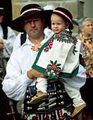 Highlanders, Cracow folk festival, Cracow, Poland