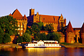 Castle of the Teutonic Knights in Malbork (13th - 14th centuries), Poland