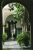 Patio,Palacio de Lebrija,Cuna,Sevilla,Andalusia,Spain