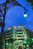 Casa Mila,Architect Antonio Gaudi,Barcelona,Catalonia,Spain