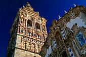 Church,Iglesia San Bartolome,Jerez de los Caballeros,Province Badajoz,Extremadura,Spain