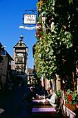 "Hotel Restaurant ""Au Dolder"" in Riquewihr,Elsass,France"