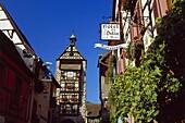 Dolder Tower in Riquewihr,Elsass,France