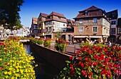 Houses in Quartier des Tanneurs in Colmar,Elsass,France