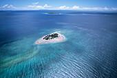 Aerial Photo of Vunivandra and Bounty Islands,Mamanuca Islands, Fiji