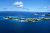 Aerial Photo of Yanuya Island,Mamanuca Islands, Fiji
