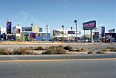 Advertisement at a street in Las Vegas, Nevada, USA