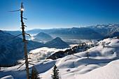 Winter Landscape, Skiing Region Altaussee, Steiermark, Austria