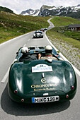 Silvretta Classic Rallye Montafon, 08.07.2004, Silvretta Alpine Road, Jaguar C-Type, 215PS, Bj.1952