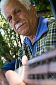 Turkish Street Musician, Old Town Antalya, Antalya, Turkey