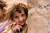 Happy Yemenite Girl, Sana'a, Yemen