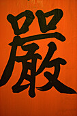 Chinese Lettering, Mong Kok, Kowloon, Hong Kong