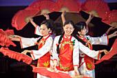 Cabaret Performance aboard MV Victoria Queen,Victoria Cruises, Yangtze River, China