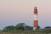 Lighthouse near Fluegge, Fehmarn Island, Baltic Sea, Schleswig-Holstein, Germany
