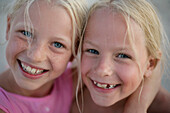 Portrait of Twins (8 years)
