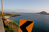 Morgens, Sonnenaufgang, waimanalo bay, Honolulu, Vereinigte Staaten von Amerika, U.S.A.
