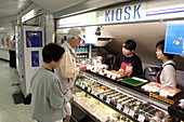 take-away, fast food, subway, Metro, station, JR Yamanote Line, Tokio, Tokyo, Japan
