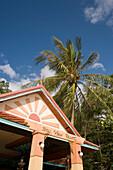Part of the Bay View Resort in the near of Laem Hin Beach, Ko Phi Phi Don, Ko Phi Phi Island, Krabi, Thailand, after the tsunami