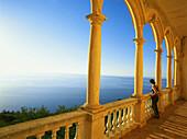 View from Son Marroig, near Deia, Northwest coast, Mallorca, Spain