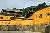 Zhiyuan Monastery, Jiuhua Shan Village, Jiuhuashan, Mount Jiuhua, mountain of nine flowers, Jiuhua Shan, Anhui province, China, Asia