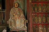 statue of Zhen Wu, Wudang Shan, Taoist mountain, Hubei province, Wudangshan, Mount Wudang, UNESCO world cultural heritage site, birthplace of Tai chi, China, Asia