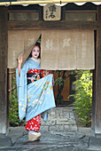 A Geisha in Training, Maiko Masayo, Kyoto, Japan
