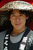 Young japanese man, Takayama, Hida district, Japan