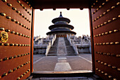 Temple of Heaven, Hall of Prayer for Good Harvests, Beijing, China
