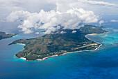 Aerial Photo of Praslin Island,Praslin Island, Seychelles