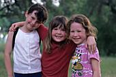 Happy Children,Mayan Dude Ranch, Bandera, Texas, USA