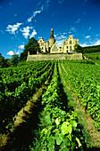 Arenfels Palace, Bad Honningen, River Rhine, Rhineland-Palatinate, Germany