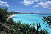 Jolly Bay, View from Cocos Resort, St. Johns, Antigua, Carribean