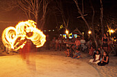 Fire Dancing Performance, Sam Lords Castle, St. Phillip, Barbados, Carribean