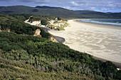 Beach at Cloudy Bay, South Bruny Island, Tasmania, Australia