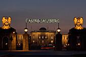 Außenansicht Casino Salzburg, Österreich
