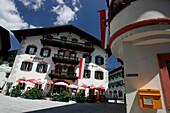 Gasthof zur Post in Lofer, hier soll Mozart übernachtet haben, Salzburg, Salzburger Land, Österreich
