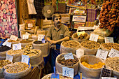 Dried Fruits and Nuts at Misir Carsisi Spice Bazaar, Istanbul, Turkey